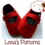 Red Baby Mary Jane Shoes se..