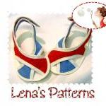 Baby Sandals Sewing Pattern..