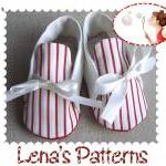 Sailor Baby Shoes sewing pa..