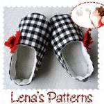 Poppy Baby Shoes Easy Sewin..