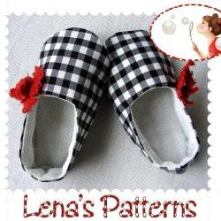 Poppy Baby Shoes Easy Sewing Pattern 